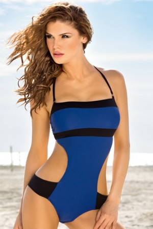 Leonisa Perfect Shape Strapless Monokini Swimsuit