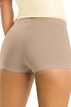 Leonisa Simply Comfortable 3-Pack Boyshort Panty in Cotton