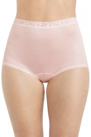 Lorraine Full Brief with Lace Trim