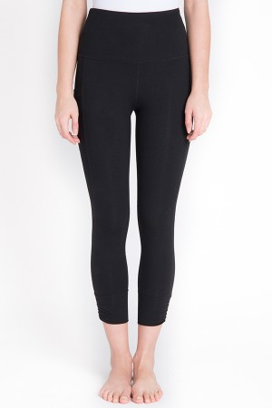 Lyssé Cotton Flex Crop Legging
