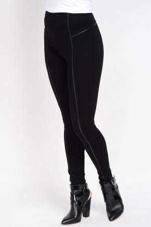 Lysse Leather Inset Legging