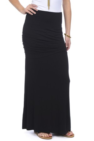 Lysse Ruched Maxi Skirt