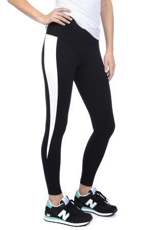 Lysse Spike Stripe Ankle Ponte Legging