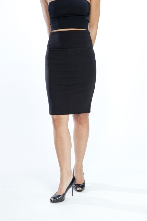 Lysse Stretch Knit Control Pencil Skirt