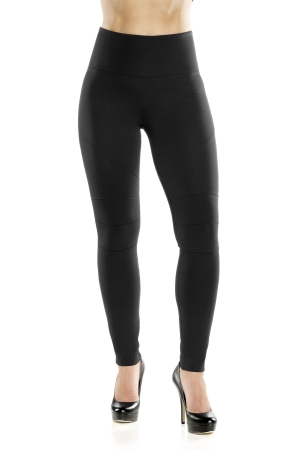 Lysse Stretch Knit Knee Seam Detail Legging