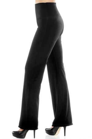 Lysse Stretch Velvet Wide Leg Control Legging