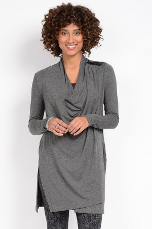Lysse Sweater Zip Wrap