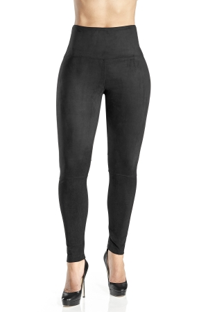 Lysse Ultrasuede Legging With Knee Seam Detail