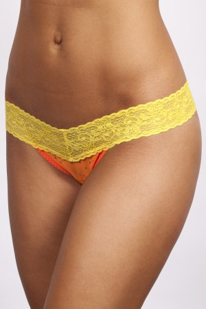 Mad & Mac Hologram Lowrise Thong