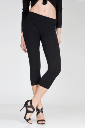 MeMoi Cotton Seamless Capri Leggings