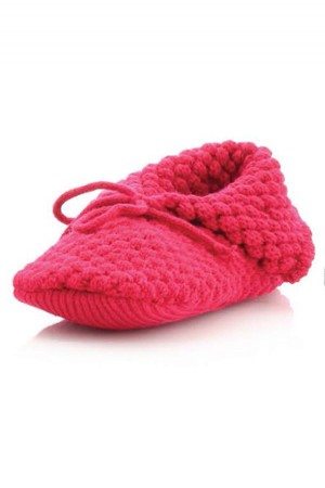MeMoi Honeycomb Fluff Slipper