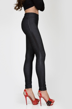 MeMoi Racing Track Leggings