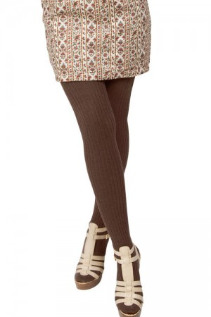 MeMoi Rib Sweater Tights