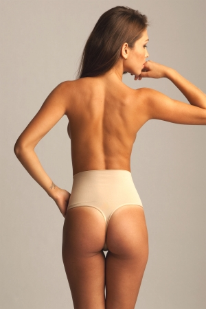MeMoi SlimMe High Waisted Thong
