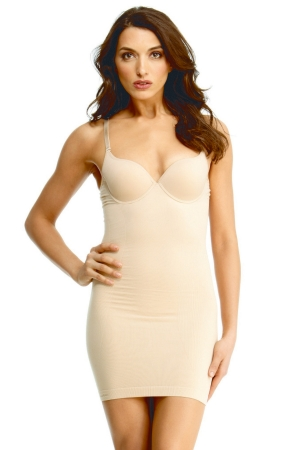 MeMoi SlimMe Underwire and Padded Shaping Slip