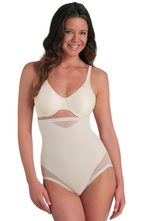 Miraclesuit Sexy Sheer Shaping Hi-Waist Brief