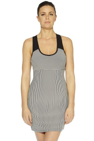 MSP by Miraclesuit Stripe Racerback Dress