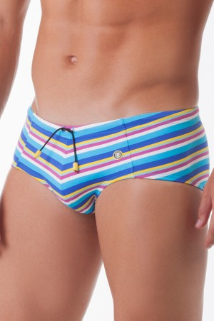 Mundo Unico Amazonia Swim Brief Playa Tejido