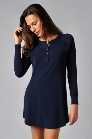 Naked Essential Cotton Stretch Sleepshirt