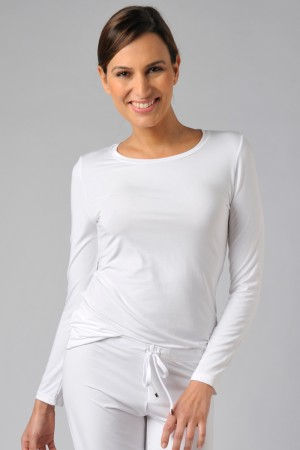 Naked Luxury Modal Long Sleeve Tee