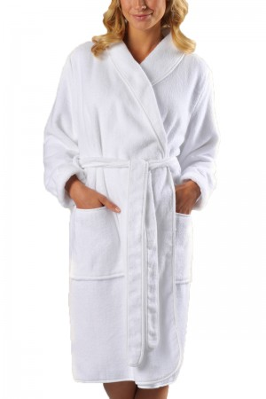 Naked Luxury Spa Pique Robe