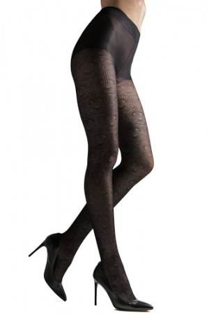 Natori Fan Sheer Tights