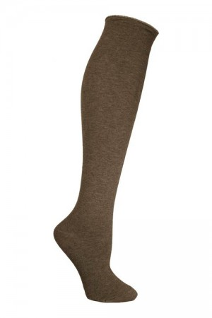 Ozone High Zone Heather Brown Sock