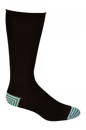 Ozone Men's Basic Black Sock