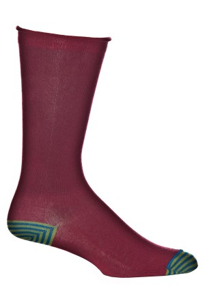 Ozone Men's Basic Bordeaux Sock