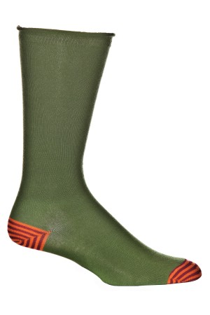 Ozone Men's Basic Green Sock