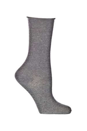 Ozone Mid Zone Heather Grey Sock