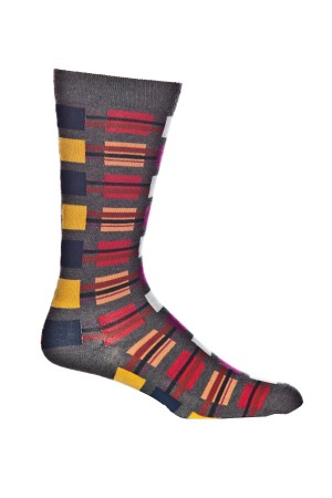 Ozone Squared Away Grey Sock