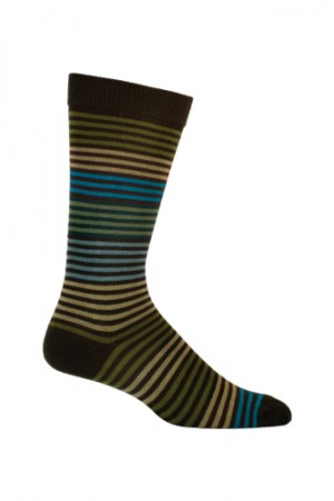 Ozone Stripy Men's Meleze Sock
