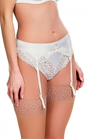 Panache Quinn Bridal Suspender Belt