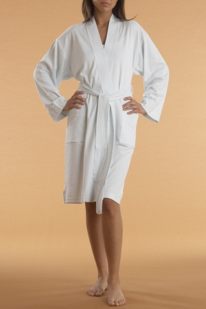P.Jamas Butterknit Short Robe