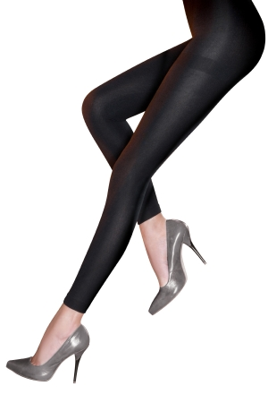 Pretty Polly 200D Fleecy Opaque Footless Tights