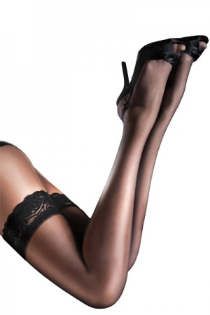 Pretty Polly Aristoc 10 Denier Lace Top Hold Ups