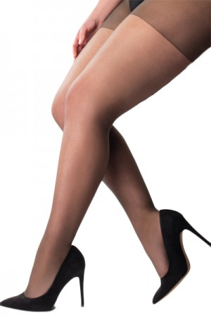 Pretty Polly Curves 15 Denier Ladder Resist Tights