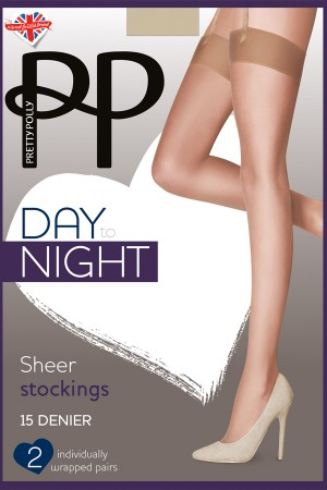 Pretty Polly Day To Night 15D Sheer Stocking