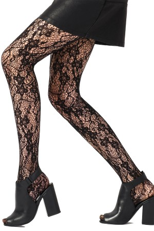 Pretty Polly Flower Net Tights