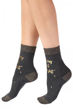 Pretty Polly Holiday Merry and Bright Socks