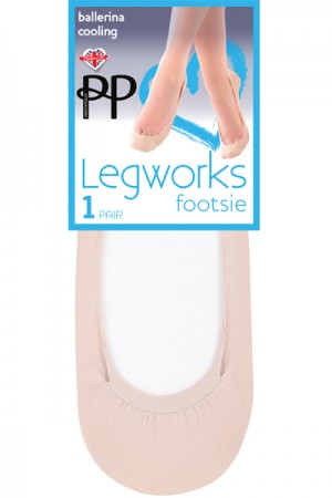Pretty Polly Legworks Cooling Ballerina Footsie