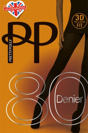 Pretty Polly Premium 80 Denier 3D Opaque Tights