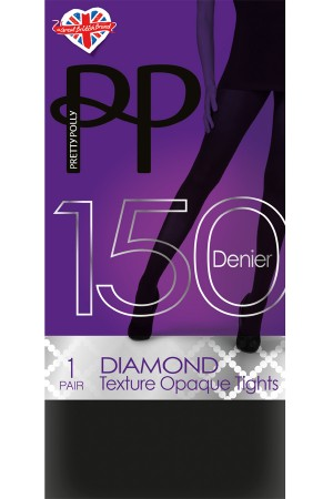 Pretty Polly Premium Diamond Texture Tights