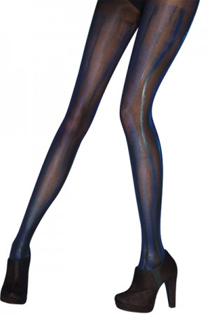 Pretty Polly Vertical Print Tights