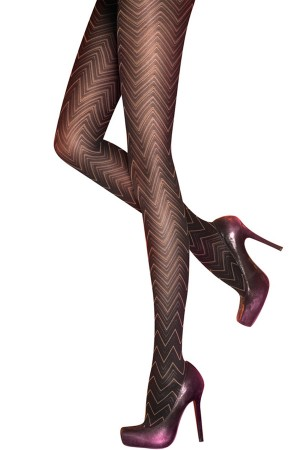 Pretty Polly Zig Zag Tights