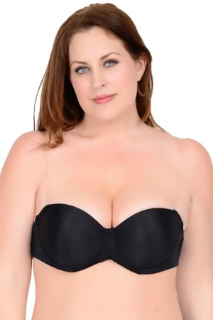 QT Intimates Clearly Hooked Padded Balconette Bra