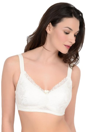 QT Intimates Lace Padded Pocket Bra