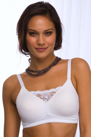QT Intimates Padded Seamless Cami Bra with Pockets