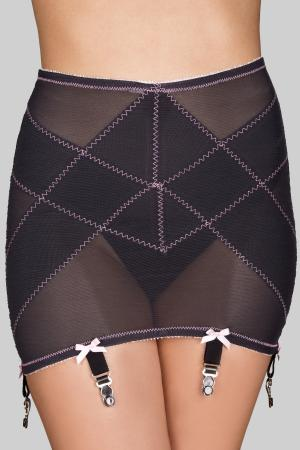 Rago Trim Open Bottom Sheer Girdle Light Shaping